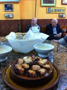 Pulpo a la Gallega Tapas Spanje gastronomie