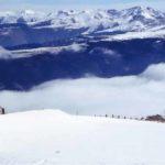 Bergen sneeuw Pyreneeën Catalonië