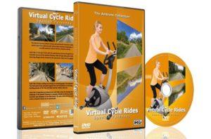 dvd virtuele fietstochten Pyreneeën