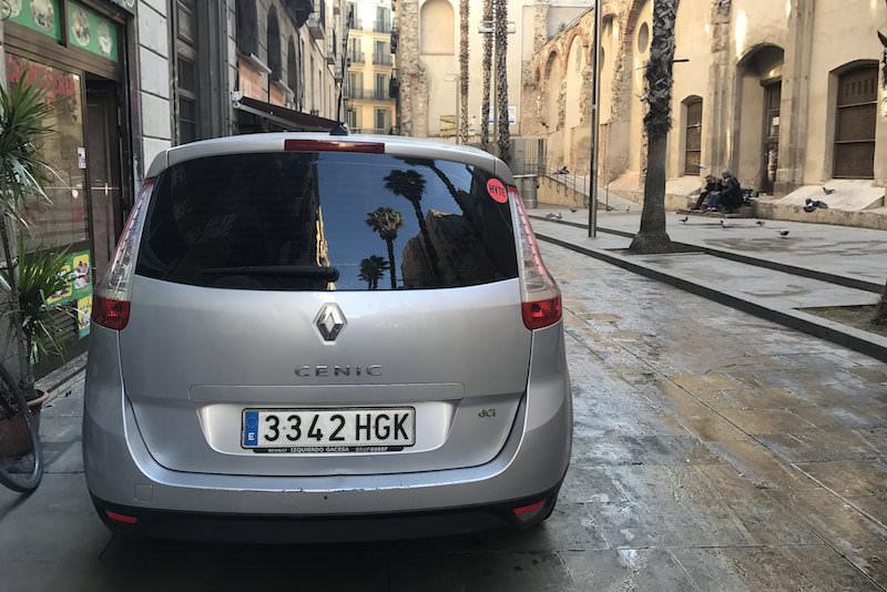 Auto huren Spanje