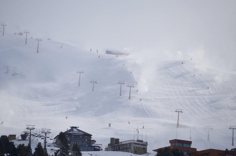 Skigebied Baqueira Beret in Spanje