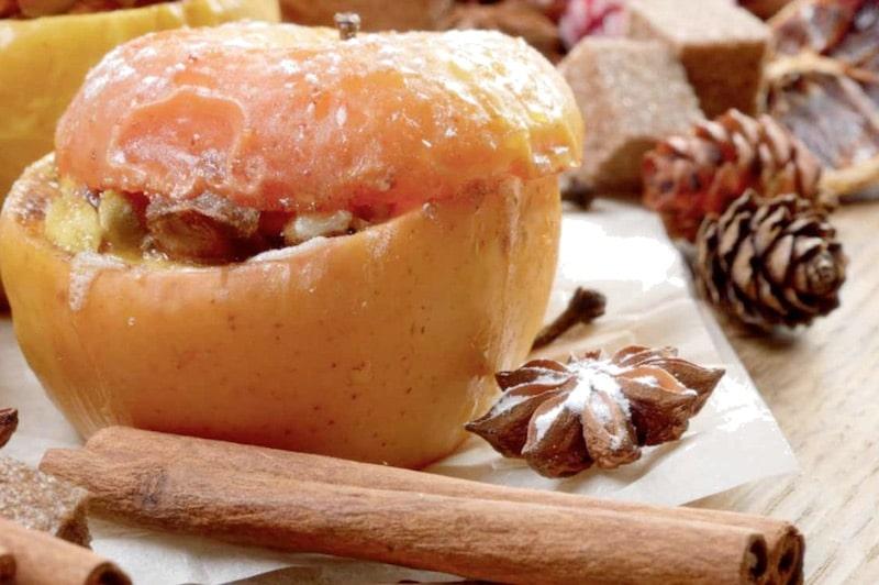 Recept: manzanas asadas con anís de Chinchón