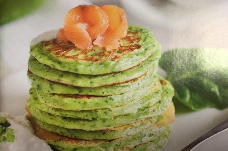 Recept: Spinazie-chufapannenkoeken