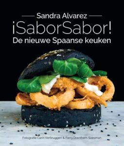 Cover kookboek SaborSabor met moderne Spaanse recepten