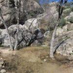 Waterval cascada del covacho bij Madrid