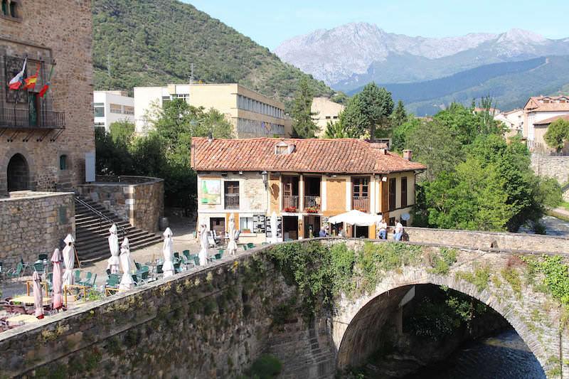 potes dorpje Cantabrië