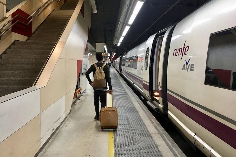 AVE station Sants Barcelona