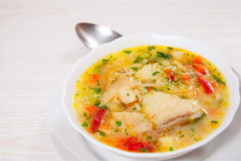 soep met vis