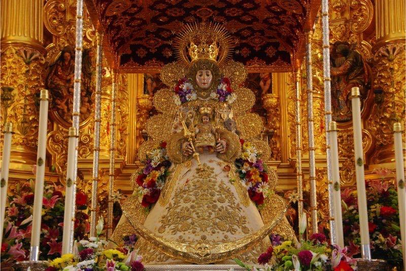 Romería del Rocío beeld