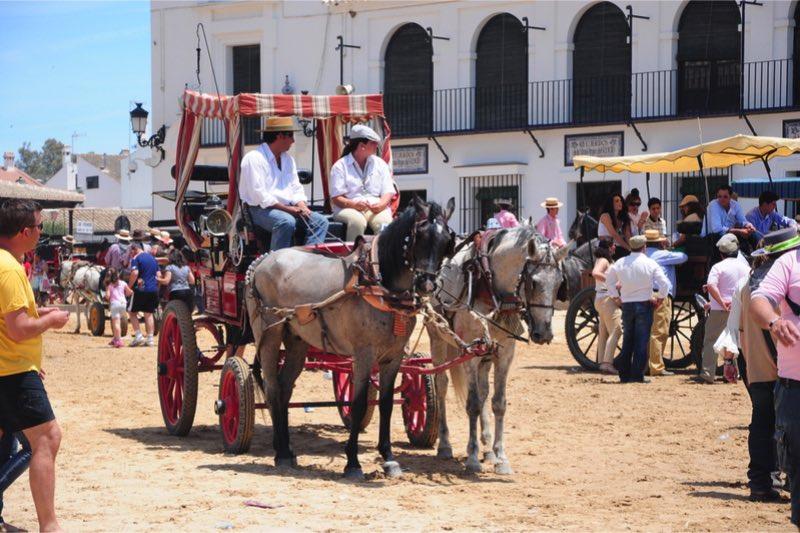 Romería del Rocío paard koets
