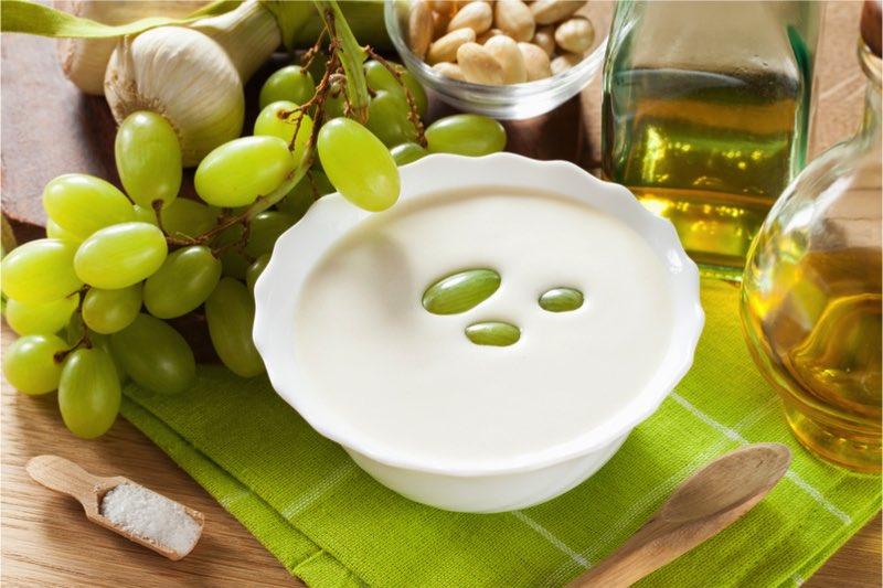 recept ajoblanco ajo blanco