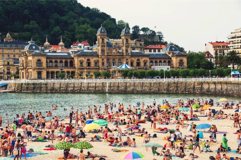 San Sebastián, strandstad voor lekkerbekken