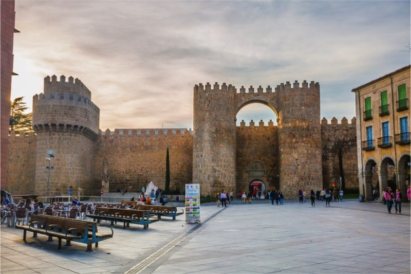 Unesco oude centrum ávila