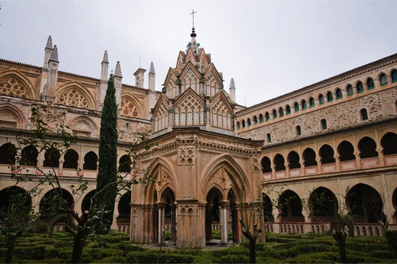 Unesco klooster van santa maria de guadalupe