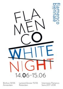 flyer white night flamenco biennale