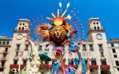 8 x Hogueras de San Juan in Alicante