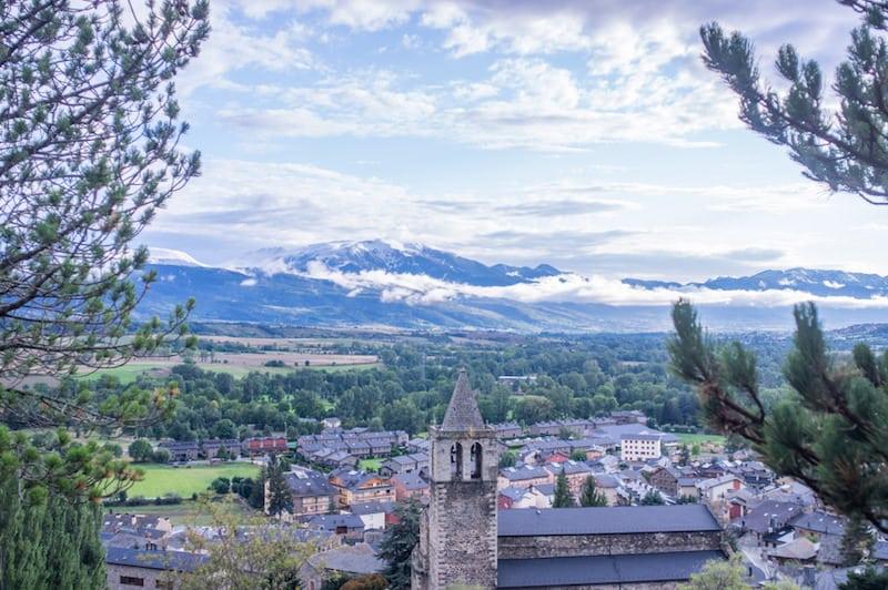 Llivia Noord Spanje