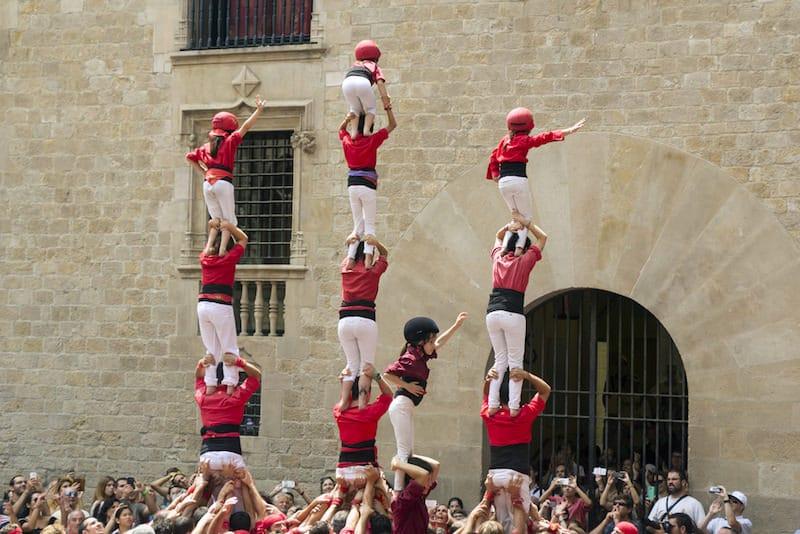 Castellers -Pilar