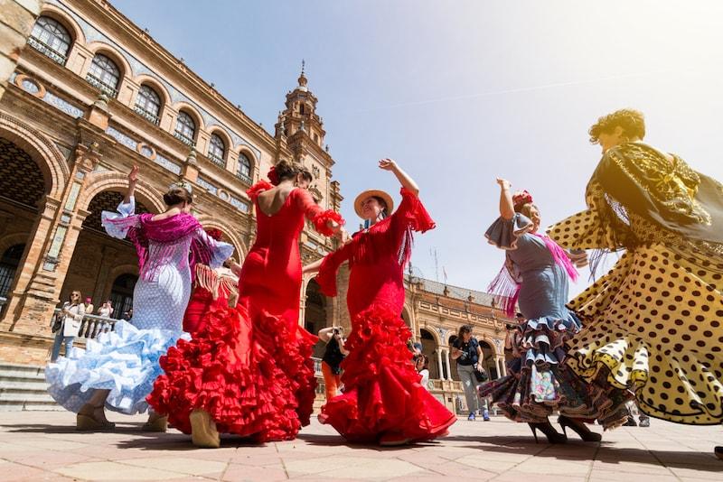 Flamenco dans Sevilla