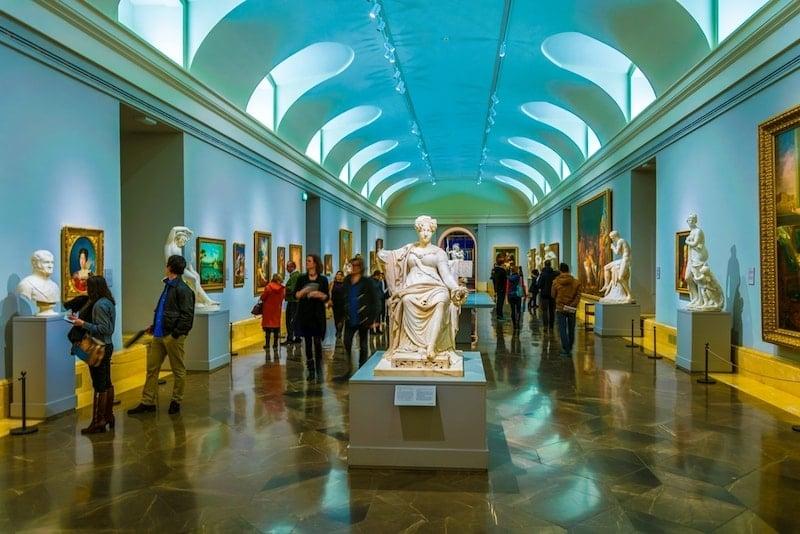 Het Pradomuseum in Madrid