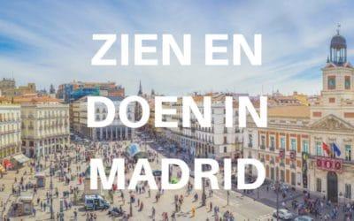 10 x zien en doen in Madrid