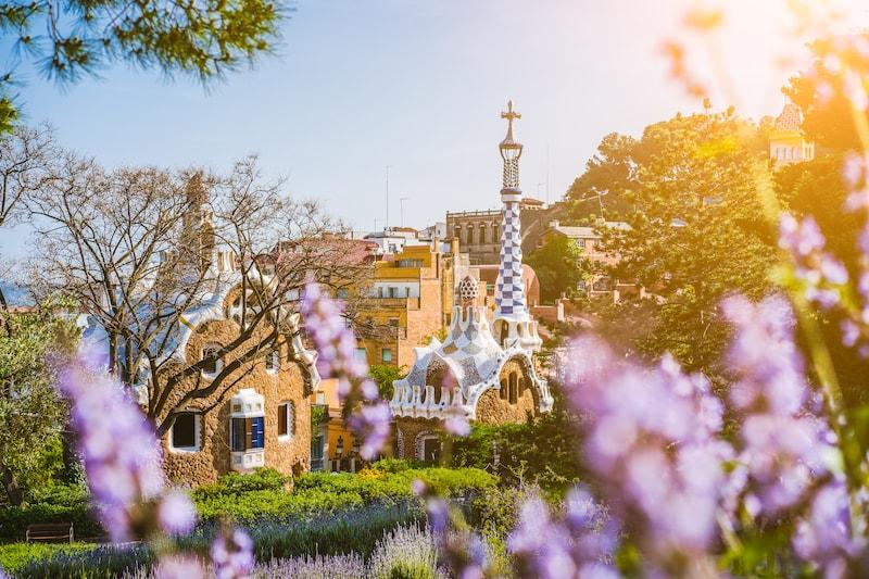 Park Guell Barcelona- Spanje