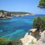 Cala Portinatx Ibiza Spanje