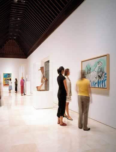 Málaga, hippe museumstad