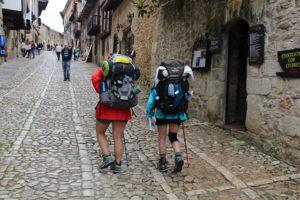 Pelgrimspad naar Santiago de Compostela