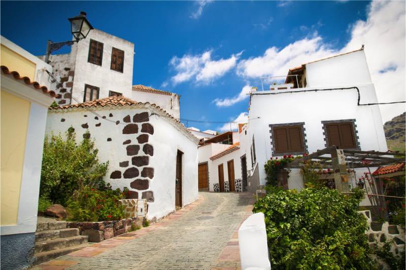 witte huisjes in santa lucia