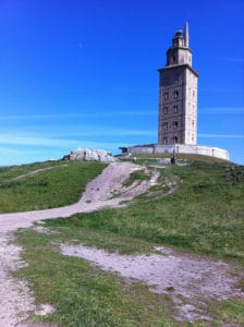 Herculestoren La Coruña Spanje Werelderfgoedlijst