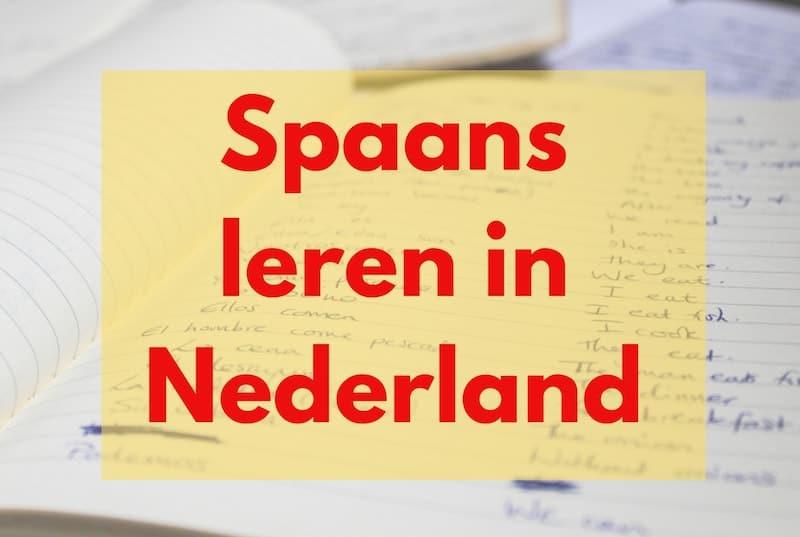 Spaans leren in Nederland