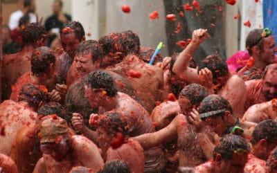 La Tomatina, 's werelds grootste tomatengevecht