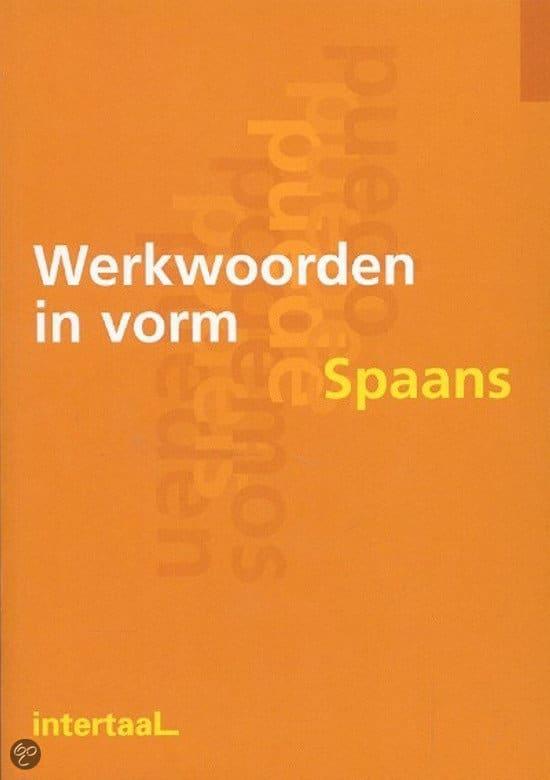 Cover Werkwoorden in vorm Spaans