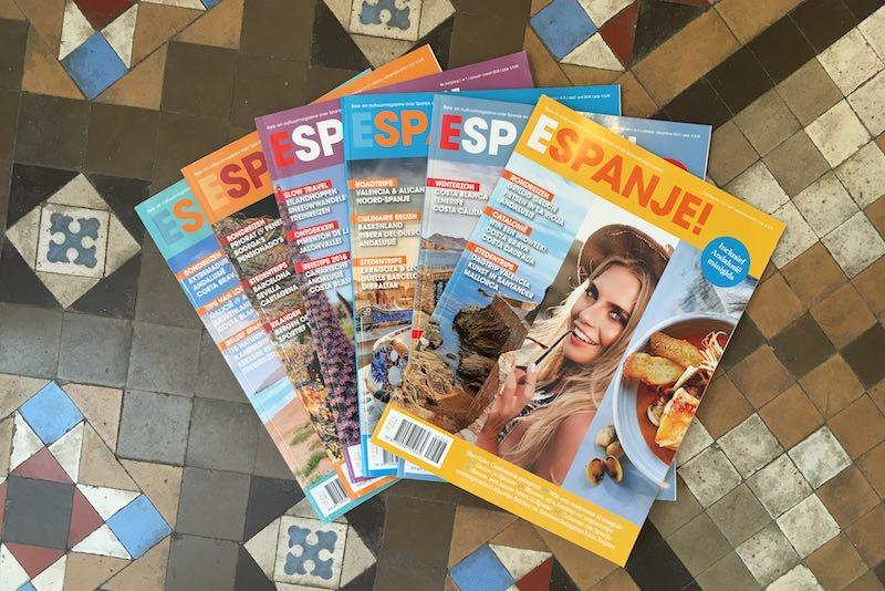 magazines-van-espanje-op-een-rij