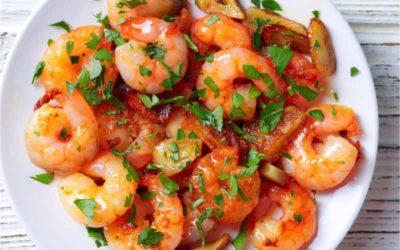 Spaans recept: gambas al ajillo