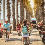 strand barceloneta fietsen