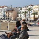 Sitges zon strand