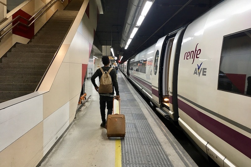 ¡Vamos en tren! Met de trein door Spanje