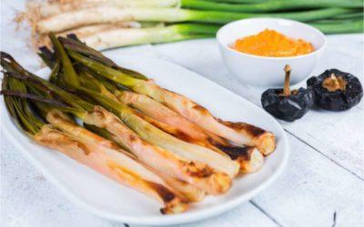 Spaans recept: Calçots met romescosaus