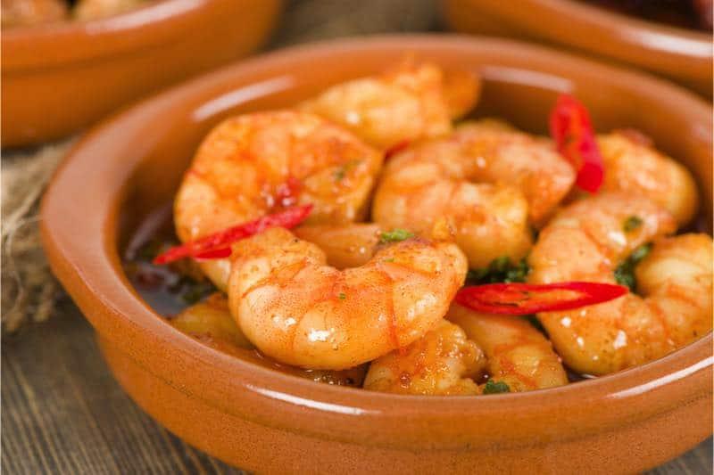 Spaans recept: Pil Pil