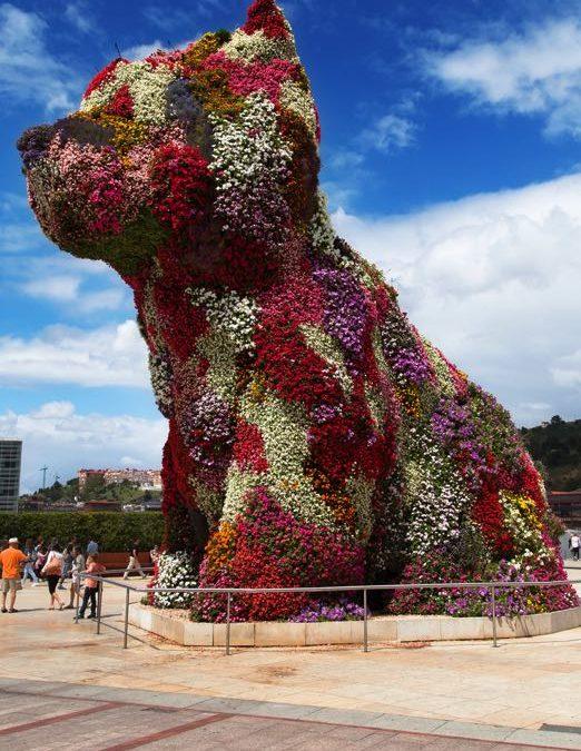 Het Guggenheim Museum in Bilbao