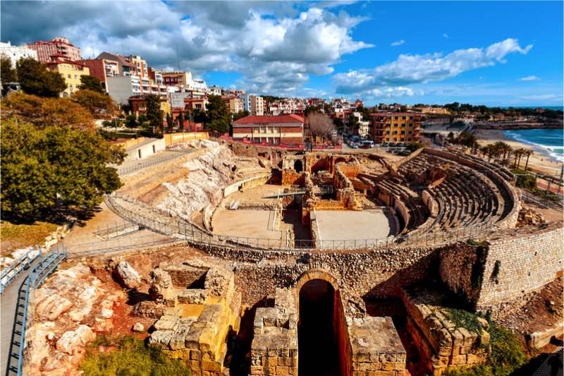 Unesco archeologisch terrein van tarragona