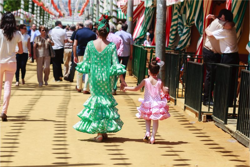 12x de Feria de Abril in Sevilla