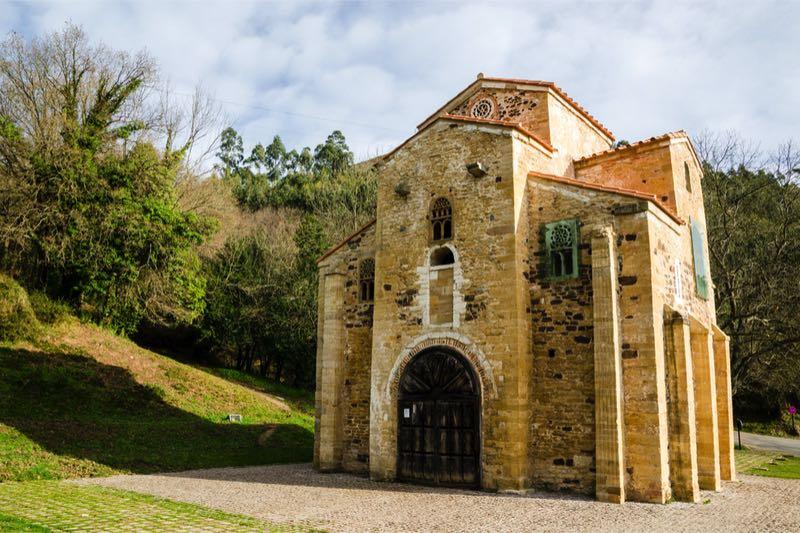 Unesco monumenten van oviedo