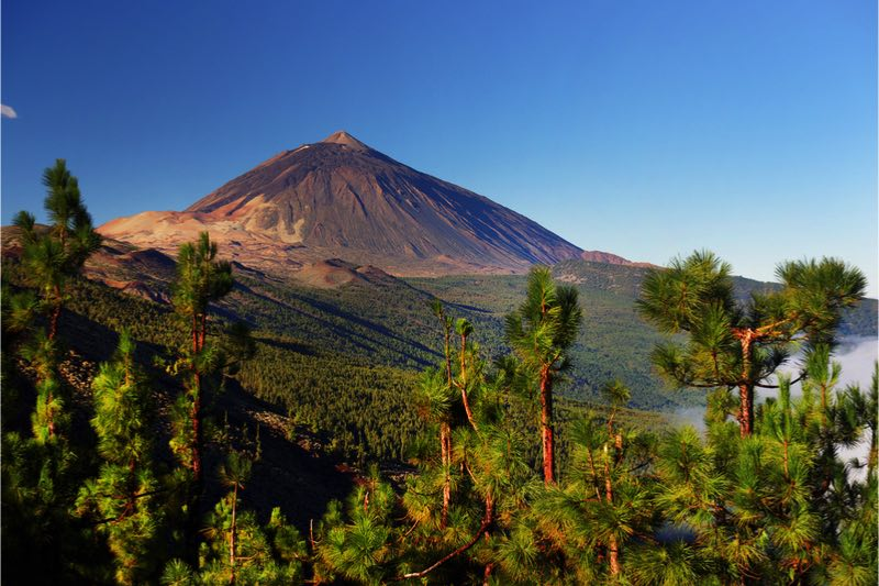 Unesco nationaal park el teide
