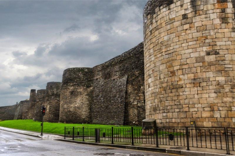 Unesco romeinse muren van lugo