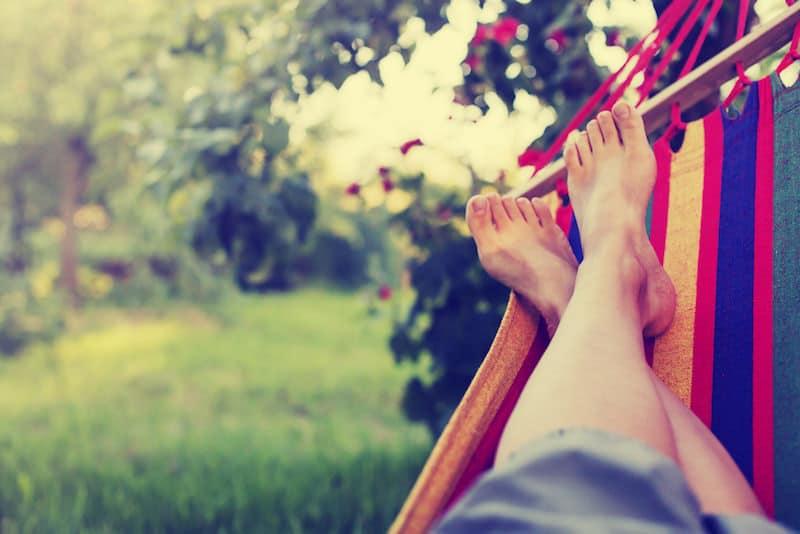 Op-en-top vakantie: Spanje's eerste hangmat-park