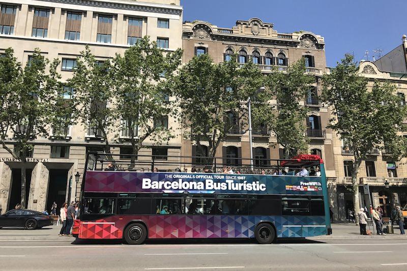 toeristenbus barcelona