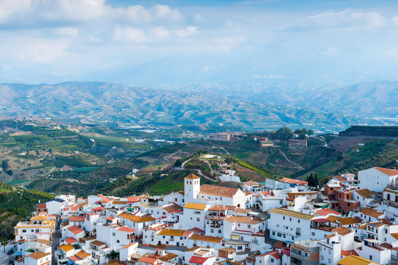 Wandeloase in Andalusië
